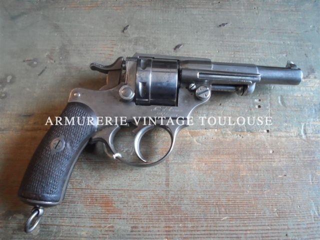 Révolver Français modèle 1873 calibre 11mm de la série 1876