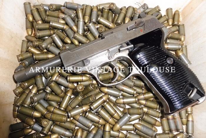 Somptueux pistolet P38 calibre 9 x 19 fabrication en 1945