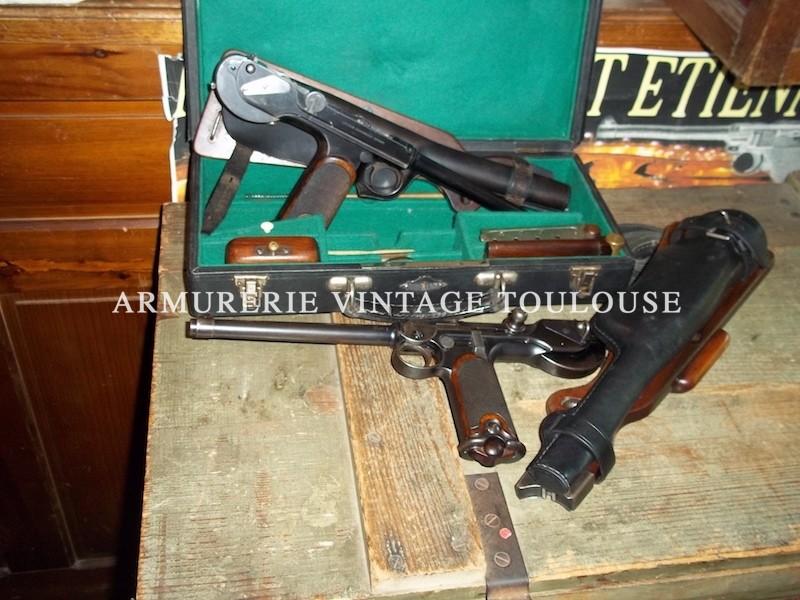 Borchardt fabrication Ludwig Loëwe C.93 calibre 7,65