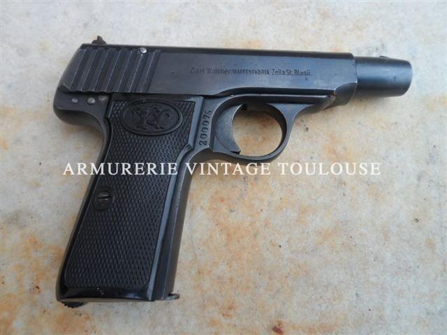 rare pistolet  Walther numéro 4 calibre 7,65×17 sa