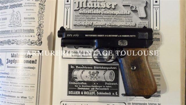Pistolet Mauser 7,65 type 1910