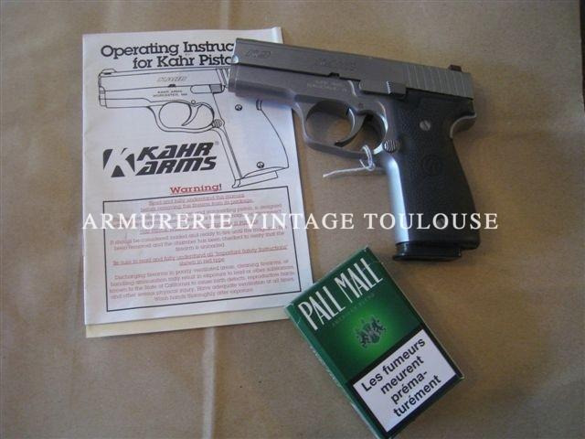 pistolet KAHR K 9 calibre 9×19