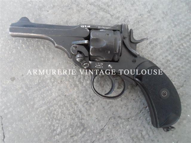 Révolver à brisure calibre 455 webley MK IV Boer war model