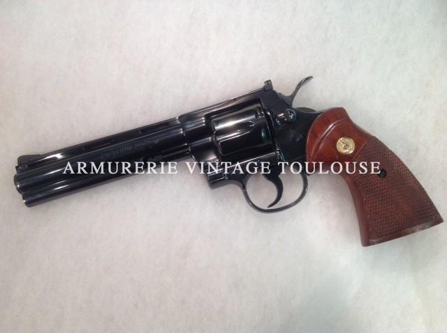 Révolver Colt Python bronzé en 6 pouces calibre 357 Magnum