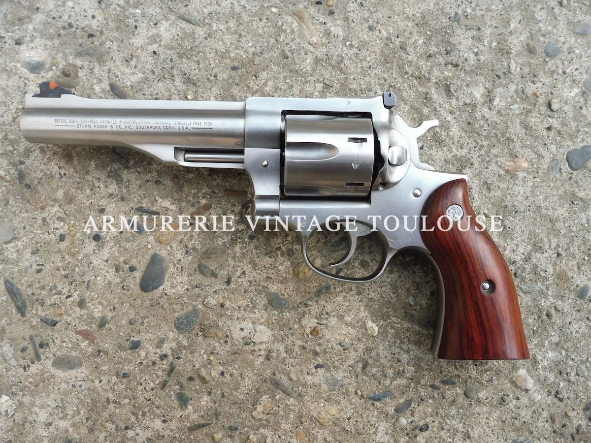 Gros revolver Ruger
