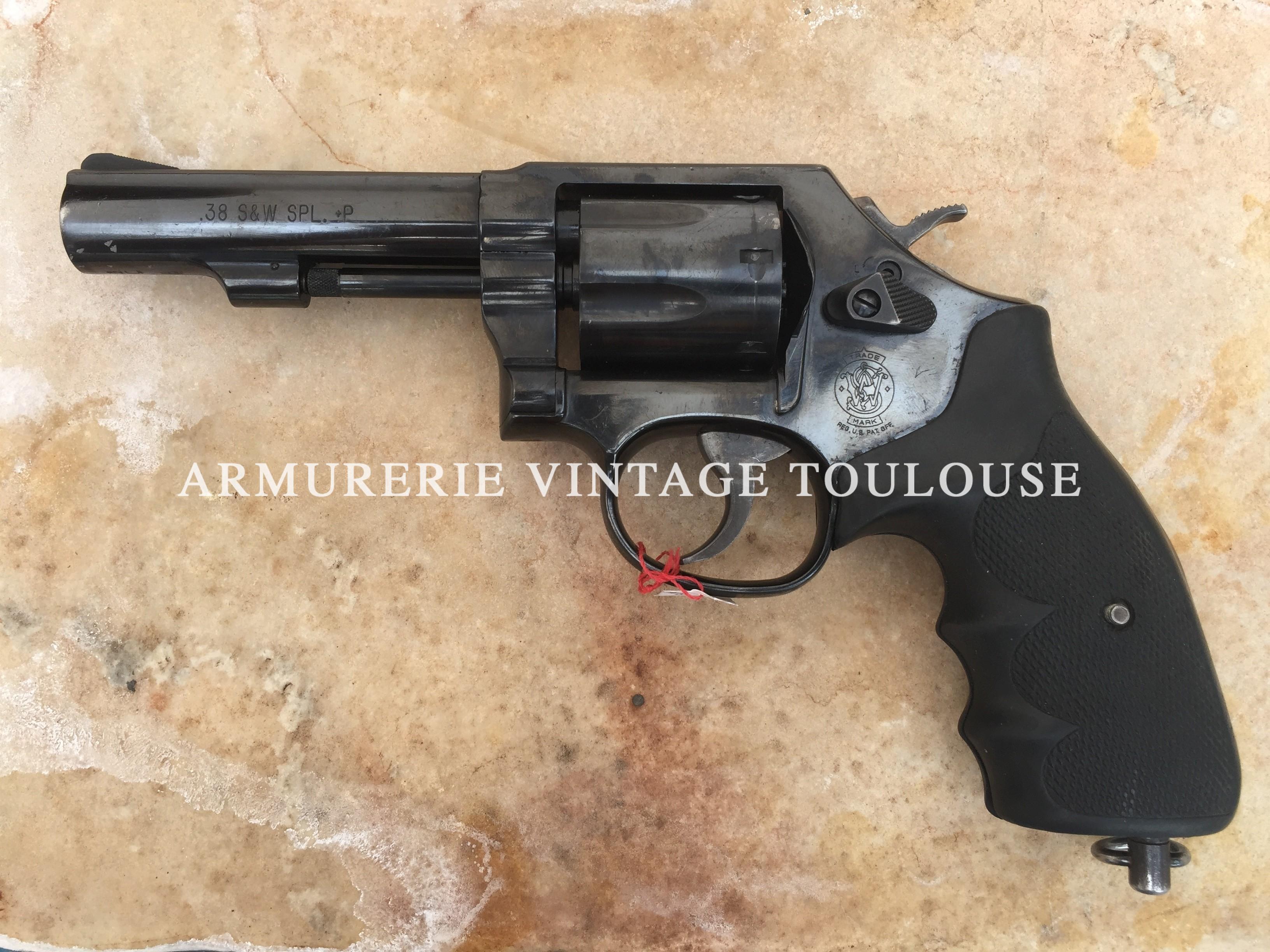 révolver calibre 38