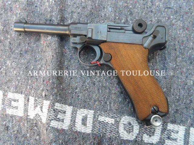 Rare et splendide  P08 Mauser calibre 9×19