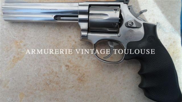 Revolver smith et Wesson 686 canon de 6 pouces calibre 357 magnum