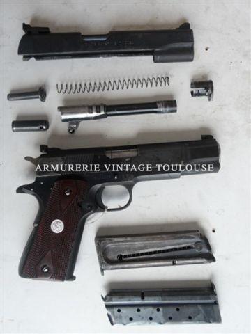 Rare ensemble divisible composé d'un Colt série 70