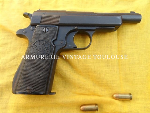 Pistolet calibre 380 ACP STAR modèle IN POLICE