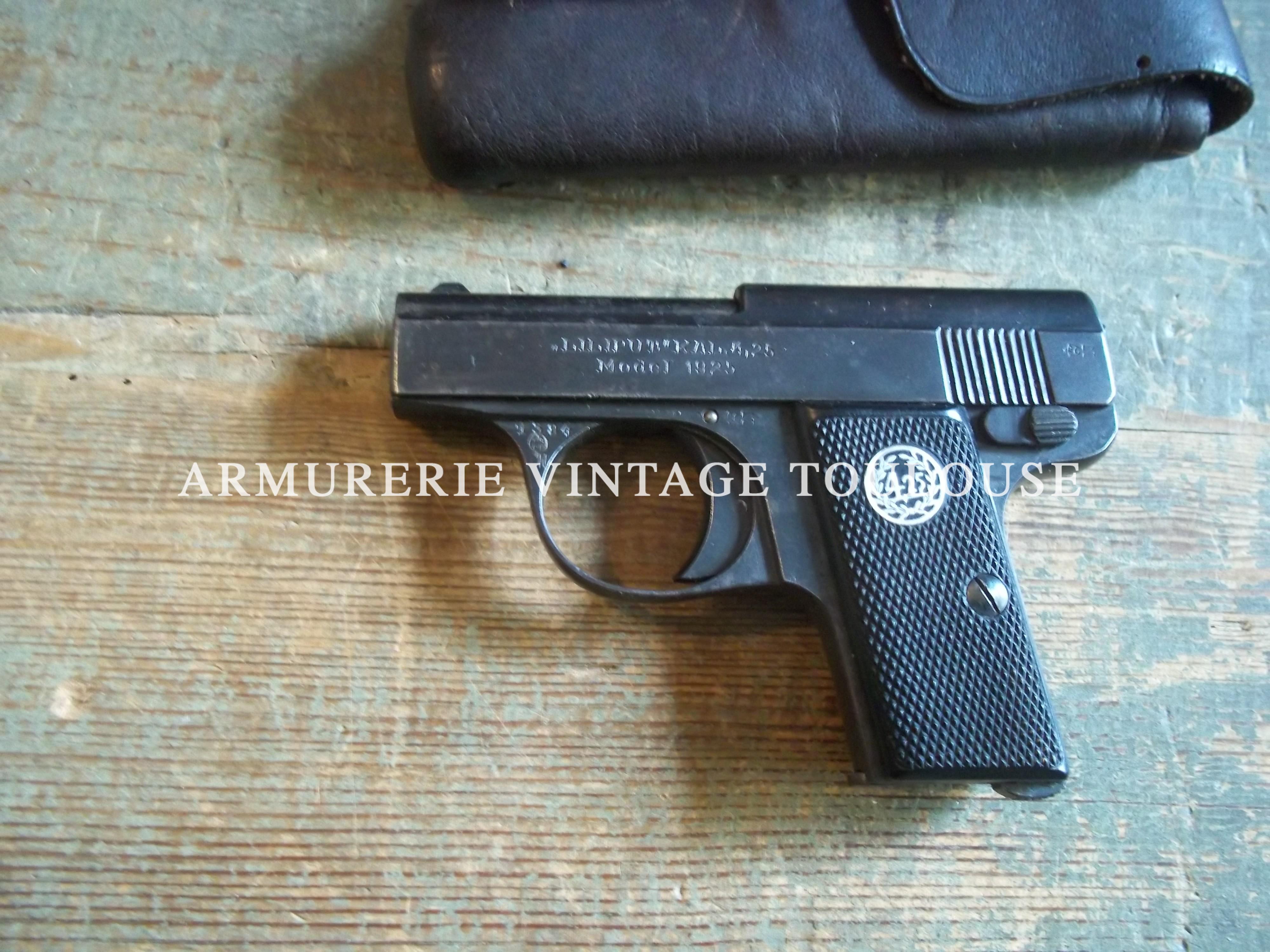 """Pistolet de poche en calibre 4, 25 mm """"LILIPUT"""""""