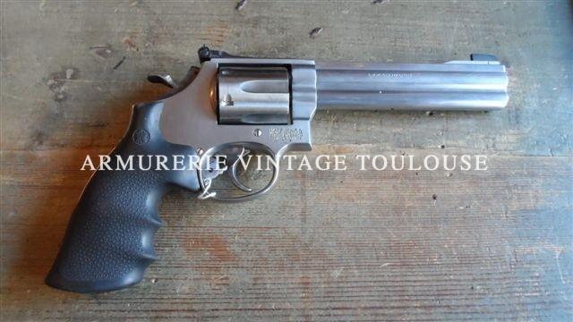 Révolver smith & wesson 686/4 calibre 357 Magnum canon de 6 pouces