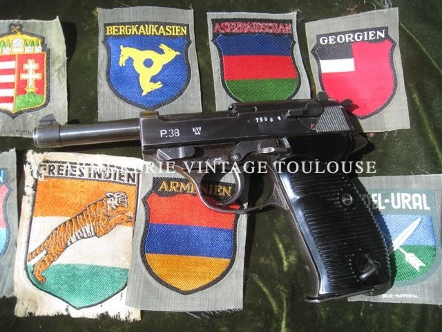"Walther P 38 ""byf"" 44"