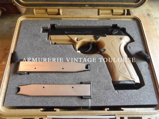 Rarissime pistolet Beretta calibre 45 ACP Beretta PX4 STORM