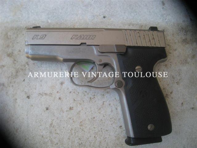 """Pistolet calibre 9×19 """"KAHR"""""""