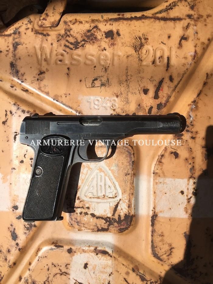 Pistolet Browning modèle 1910/22 calibre 7,65