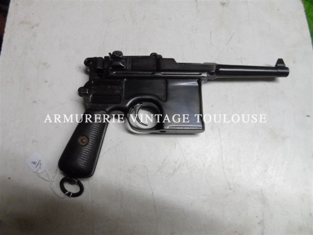 Pistolet Mauser c96 type BOLO calibre 7,63