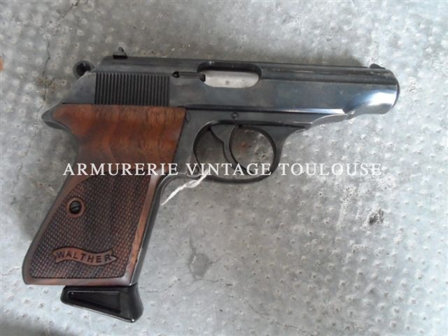 Pistolet semi-automatique Walther PP