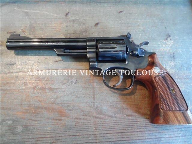 Révolver Smith et Wesson modèle 19/3 en 6 pouces