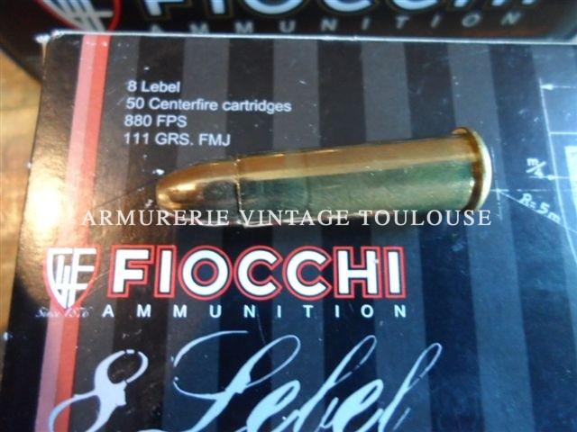 Nouvel arrivage de cartouches Fiocchi pour armes anciennes, attention seulement quelques centaine disponibles!