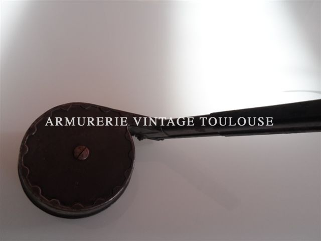 Rare trommel magasin pour P 08 avec son capot de protection, fabrication B/N