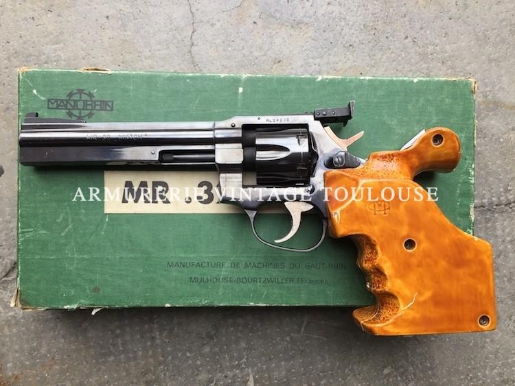 Revolver Français Manurhin MR 32 Match
