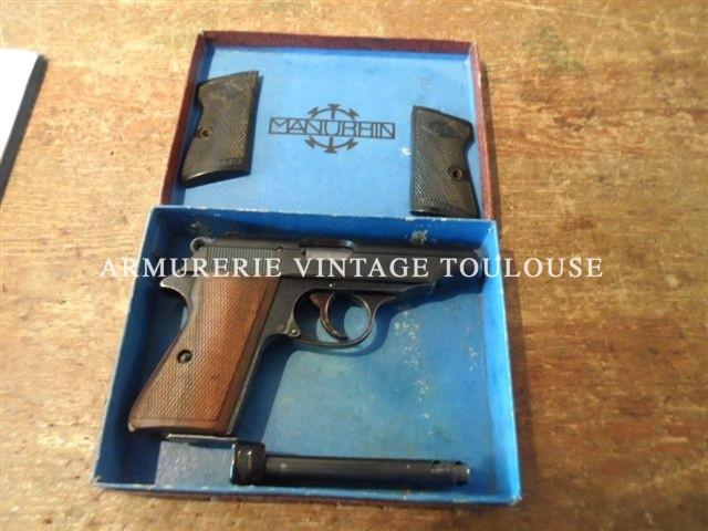 Pistolet Walther PP fabrication Manurhin dans sa boite calibre 32 ACP