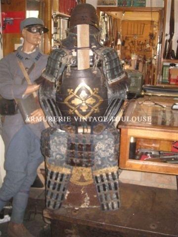 Armure d'archer Japonais ancienne !