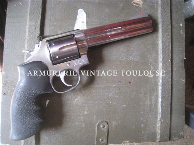 Beau révolver Smith et Wesson 686 série 3 calibre 357