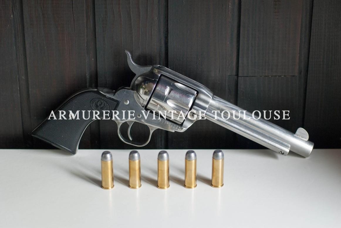 Ruger new vaquero calibre 45 LC canons de 5 pouces et demi