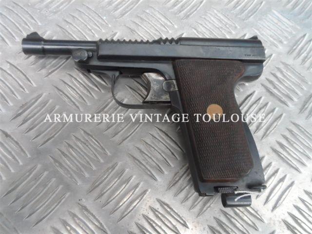 Pistolet Le Français type armée modèle 1931 calibre 9mm Browning long