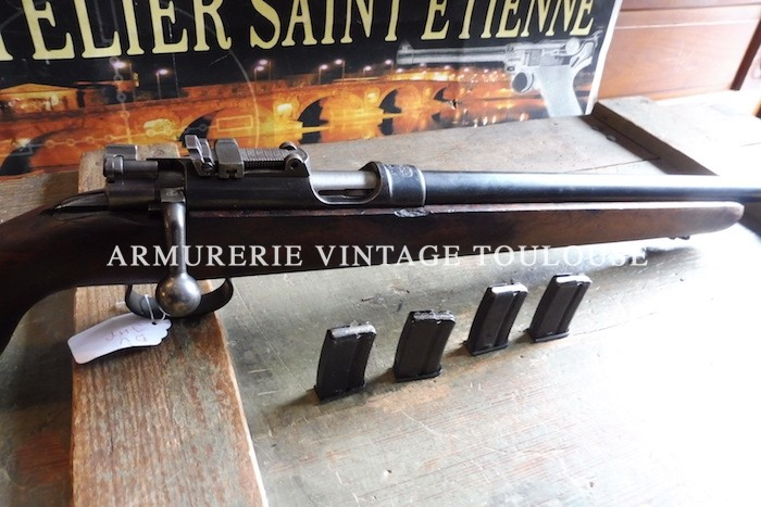 Belle carabine de tir calibre 22LR Mauser 45