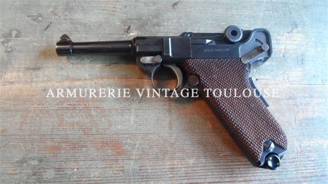Superbe P08 de fabrication Mauser fin du 20éme siècle calibre 9X19.