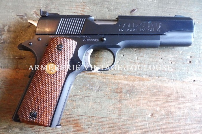 Colt Gold Cup National Match calibre 45 ACP MK IV série 70.