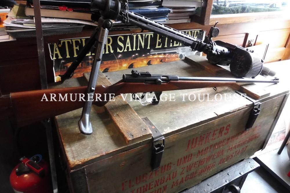 Rarissime carabine Semi-automatique de fabrication Française M.A.S. modèle 50 calibre 22LR