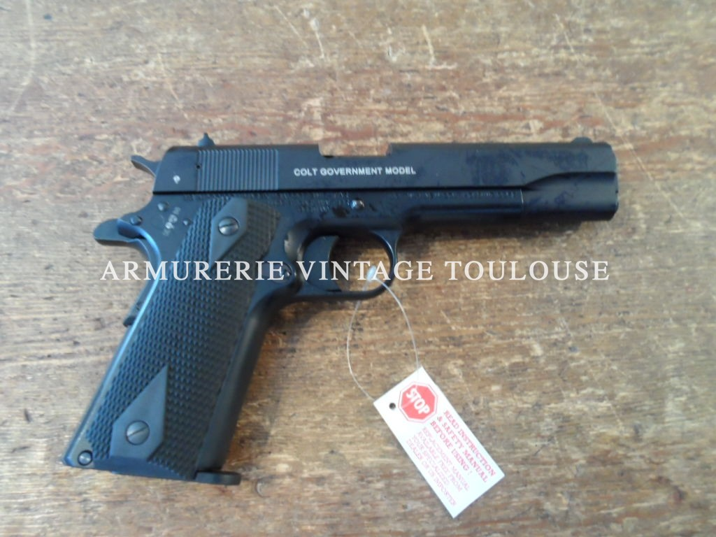 Colt 1911 A1 calibre 22LR fabrication Walther