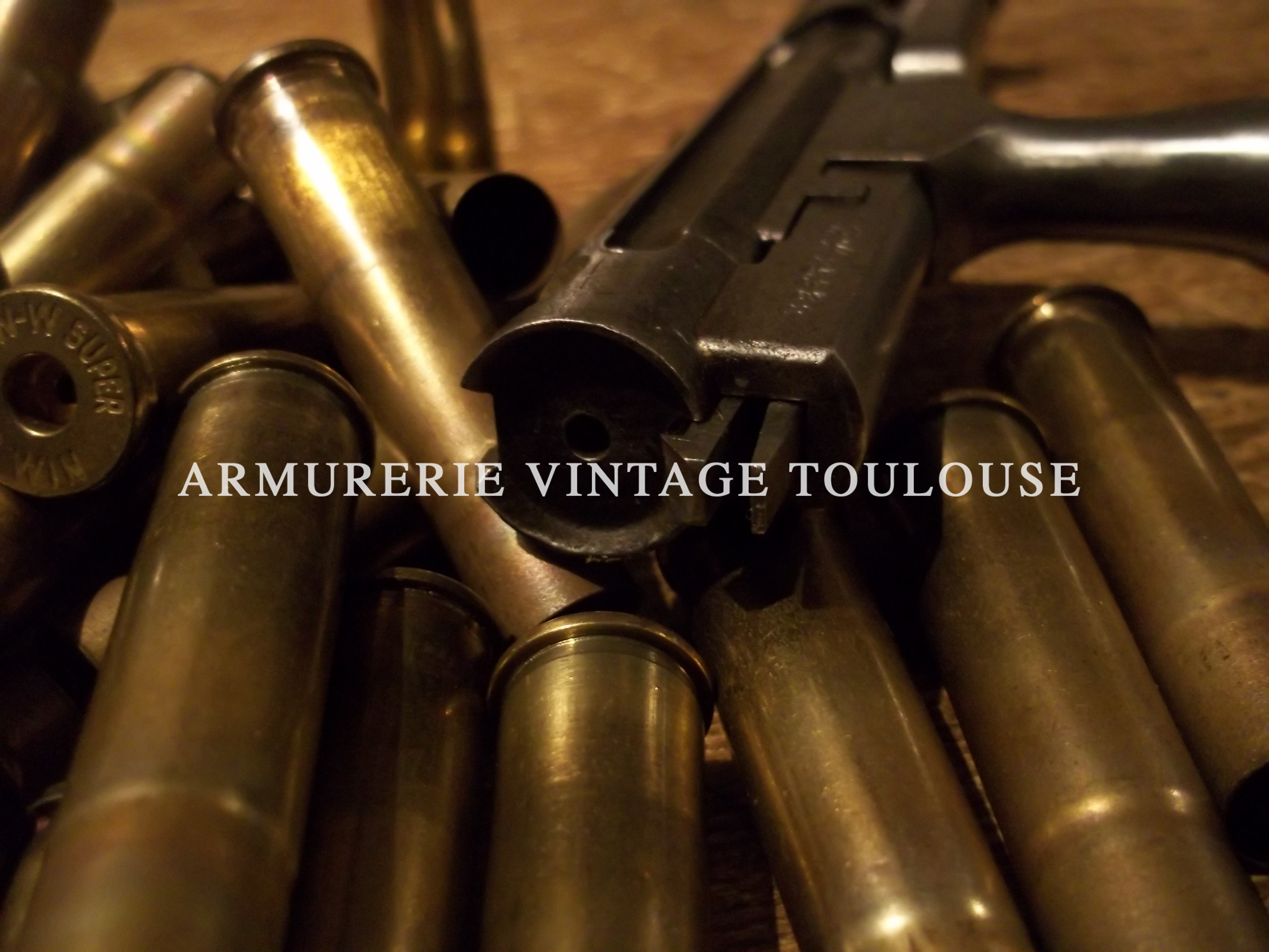 Culasses d'origine de fusil Gras infanterie calibre 11mm et Etui laiton calibre 11mm Gras