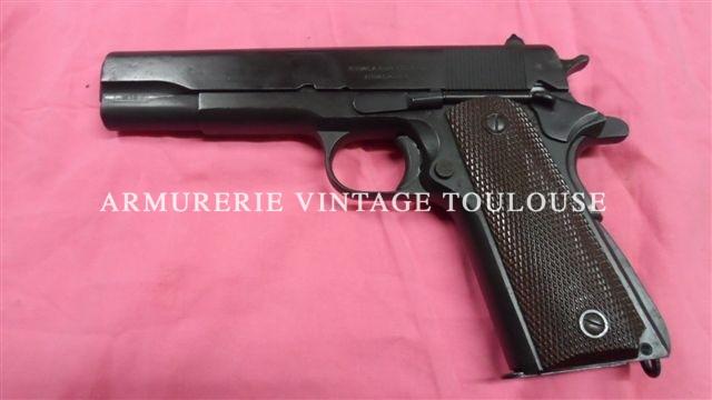Lot de pistolet réglementaires U.S modèle 1911 A1 calibre 45 ACP