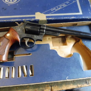 Rare revolver Silhouette Smith et Wesson modèle 53 calibre 22 Remington jet