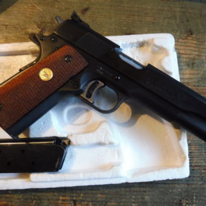 Rare Colt Gold Cup national match MK IV série 70 calibre 45 A.C.P