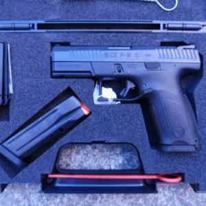 Splendide pistolet CZ P 10 C calibre 9 x 19 en boite d'origine