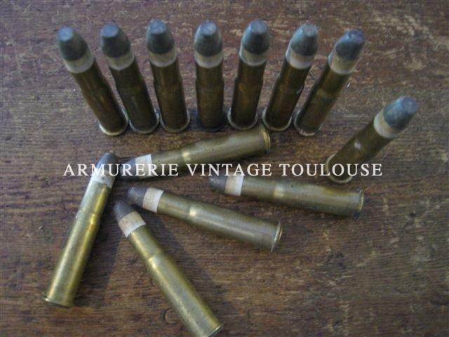 Beau lot de cartouches calibre 11mm Gras d'époque.