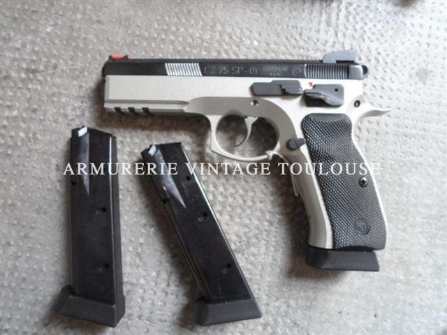 Pistolet CZ 75 SP01 calibre 9X19
