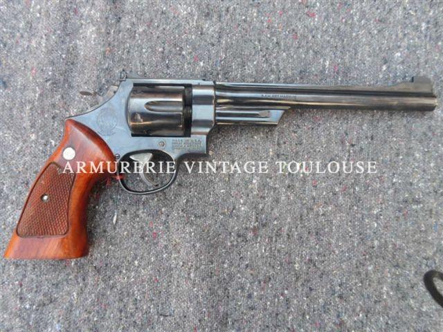 Rare Beau révolver Smith et Wesson modèle 27/2 en canon de 8 pouces