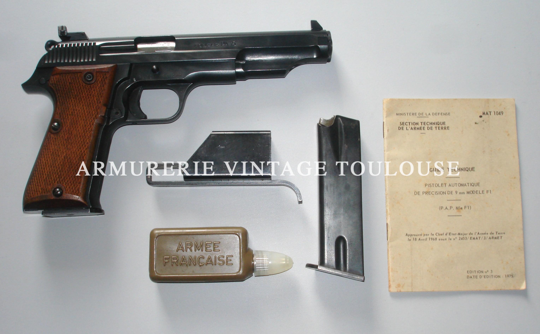 MAB P15 FA calibre 9X19 dans son coffret état excellent