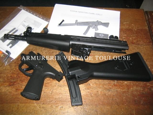 HK MP5 en 22LR… : le GSG5