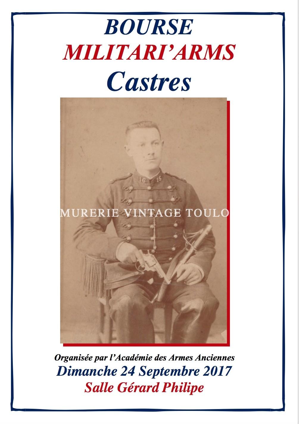BOURSE MILITARI'ARMS Castres