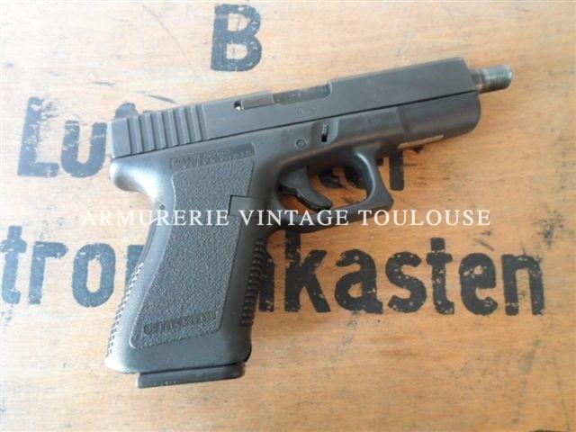 GLOCK 19 calibre 9X19 canon filetté