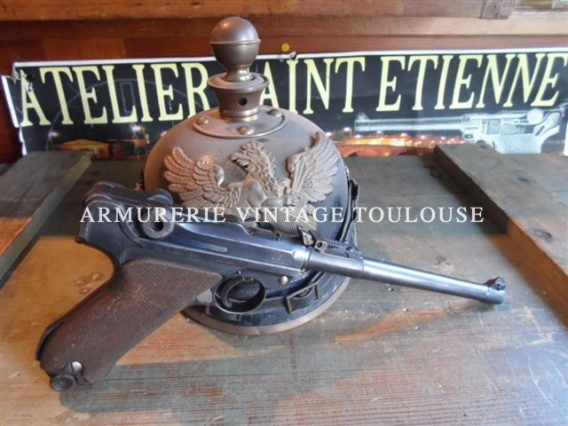 P08 d'artillerie calibre 9X19 fabrication 1917