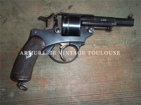 Tres rare revolver 1873 d'instruction !